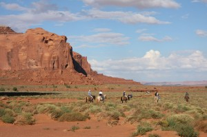 Monument Valley - Chevaux